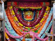 सुबह-सुबह घरों में लोगों ने कुलदेवी की पूजा की, कोरोना संक्रमण को लेकर नहीं लगा जीण माता का मेला|सीकर,Sikar - Dainik Bhaskar