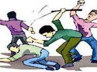 बात नहीं सुनने पर गर्भवती पत्नी के पेट में मारी लातें, बचाने आए साले का गाल दांत से काटा|ग्वालियर,Gwalior - Dainik Bhaskar