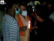 भोपालमें सब्जी-फल सप्लाई करने वाली मंडी में कोरोना गाइडलाइन के पालन को लेकर विवाद; पुलिस ने संभाली स्थिति|भोपाल,Bhopal - Dainik Bhaskar