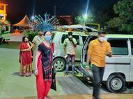 रात में आरडी गार्डी ने नए मरीजों को लेने से कर दिया इनकार, परिसर में भटकते रहे लोग|उज्जैन,Ujjain - Dainik Bhaskar
