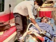 डॉ.सत्येंद्र मिश्रा दुनिया के पहले ऐसे डॉक्टर जो ऑक्सीजन सेचुरेशन 56% होने पर भी खुद का इलाज करते रहे|सागर,Sagar - Dainik Bhaskar