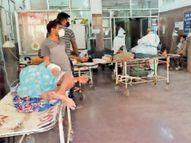 पांच दिन बाद 1000 से कम नए मरीज मिले, लेकिन मृत्यु का आंकड़ा 39 ही|बिलासपुर,Bilaspur - Dainik Bhaskar