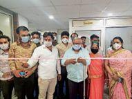 अग्रवाल ब्लड बैंक का शुभारम्भ शहर में दूर होगी रक्त की कमी|कोटा,Kota - Dainik Bhaskar