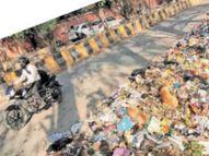 निगम वर्कशॉप का पेट्रोल पंप ड्राई, ड्राइवर नाराज, शहर से नहीं उठा 500 टन कूड़ा जालंधर,Jalandhar - Dainik Bhaskar