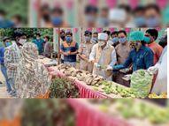 जैन बोले- सागर के लोग मानव सेवा में अग्रणी, मरीजों के परिजन को भोजन उपलब्ध कराने का यह कार्य अनुकरणीय|सागर,Sagar - Dainik Bhaskar