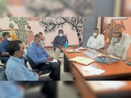 स्वास्थ्य विभाग के अधिकारियों व प्रशासनिक अफसरों काे दिया निर्देश|बेनीपट्टी,Benipatti - Dainik Bhaskar