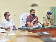 कलेक्टर-एसपी बोले, नियम मानेंं, कार्रवाई के लिए मजबूर न करें सीकर,Sikar - Dainik Bhaskar