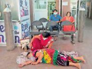 1330 नए मरीज; 37 की मृत्यु, सिर्फ 20 दिन में जिले में मिले 15 हजार संक्रमित, ऑक्सीजन बेड के लिए हाहाकार|बिलासपुर,Bilaspur - Dainik Bhaskar