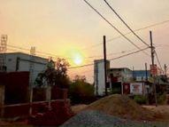 दोपहर में छाए बादल, रात में आंधी, बूंदाबादी भी हुई|बिलासपुर,Bilaspur - Dainik Bhaskar