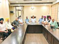 अमेरिका से लौटे एनआरआई सभा के प्रधान सहोता, 1 साल 44 दिन बाद एग्जीक्यूटिव कमेटी ने की पहली मीटिंग जालंधर,Jalandhar - Dainik Bhaskar