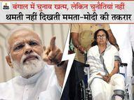 ममता तीसरी बार सत्ता में, पर BJP जैसा मजबूत विपक्ष पहली बार; ऐसे में न तकरार थमती दिख रही, न सियासी हिंसा|चुनाव 2021,Election 2021 - Money Bhaskar