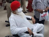 बुखार आने और ऑक्सीजन लेवल घटने पर अस्पताल में भर्ती कराया, कई समर्थक भी हॉस्पिटल पहुंचे|जोधपुर,Jodhpur - Dainik Bhaskar