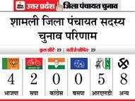 BJP को जिताऊ कैंडिडेट्स को दरकिनार करना पड़ा भारी, RLD का बढ़ा दबदबा|यूपी पंचायत चुनाव,UP Panchayat Election - Dainik Bhaskar
