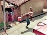 पति की मौत पर पत्नी लगाती रही मदद की गुहार, भतीजा अकेले ही शव उठाकर पहुंचा मुक्तिधाम|छत्तीसगढ़,Chhattisgarh - Dainik Bhaskar