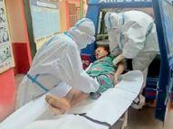 आखिर कहां जाएं गरीब मरीज; संभागीय कोविड अस्पताल की दहलीज पर इलाज के लिए डेढ़ घंटे तड़पने के बाद महिला की मृत्यु|बिलासपुर,Bilaspur - Dainik Bhaskar
