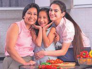 घर में रखें मां के लिए दावत, चटपटे सूजी बॉल्सऔर मीठे में डोनट बनाएं|मधुरिमा,Madhurima - Dainik Bhaskar