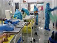एसकेएमसीएच में काेराेना मरीजाें के लिए अब 345 बेड, इनमें 200 बेड ऑक्सीजन युक्त मुजफ्फरपुर,Muzaffarpur - Dainik Bhaskar
