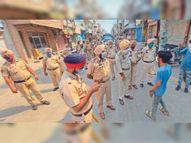 पुलिस की सख्ती से आरजी जेल में बढ़ने लगी लॉकडाउन तोड़ने वालों की संख्या|बठिंडा,Bathinda - Dainik Bhaskar