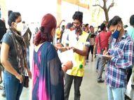 दुर्ग में शहरी व ग्रामीण इलाके के सेंटरों पर रही युवओं की भीड़, अव्यवस्थाओं के चलते परेशान हुए लोग; बेमेतरा में हंगामा|भिलाई,Bhilai - Dainik Bhaskar