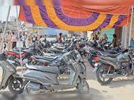 नियमों के उल्लंघन पर 1 दिन में 131 और 19 दिन में 2555 वाहन जब्त, फिर भी नहीं सुधर रहे लोग|सीकर,Sikar - Dainik Bhaskar