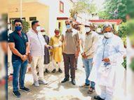 ऑक्सीजन प्लांट के लिए सामाजिक संगठनों ने दिए 23.45 लाख रुपए|सीकर,Sikar - Dainik Bhaskar