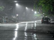 लगातार पांचवें दिन शाम को बारिश, 22 किमी प्रतिघंटे की रफ्तार से चली हवा|भिलाई,Bhilai - Dainik Bhaskar