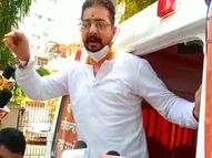 मुंबई पुलिस ने हिन्दुस्तानी भाऊ को हिरासत में लिया, बोर्ड की परीक्षा रद्द करने की कर रहे थे मांग मुंबई,Mumbai - Dainik Bhaskar