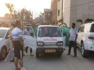 ऑक्सीजन सिलेंडर खत्म होने से कोरोना संक्रमित मरीज ने दम तोड़ा, भड़के परिजन ने पुलिस से की शिकायत|अम्बाला,Ambala - Dainik Bhaskar