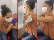 सुशांत की एक्स गर्लफ्रेंड अंकिता लोखंडे ने लिया कोविड 19 वैक्सीन का पहला डोज, इंजेक्शन से डरते हुए एक्ट्रेस हुईं जमकर ट्रोल बॉलीवुड,Bollywood - Dainik Bhaskar