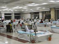 संदिग्ध मरीज भी कोविड सेंटर में भर्ती हो सकेंगे, पॉजिटिव रिपोर्ट दिखाना जरूरी नहीं देश,National - Dainik Bhaskar