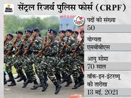 CRPF ने जनरल ड्यूटी मेडिकल ऑफिसर के पदों पर भर्ती के लिए मांगे आवेदन, 13 मई को होगा वॉक-इन-इंटरव्यू|करिअर,Career - Money Bhaskar