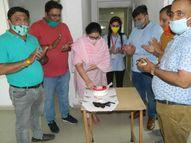 कोविड मरीजाें के लिए प्लाज्मा डोनेट करके मनाया जन्मदिन|पानीपत,Panipat - Dainik Bhaskar