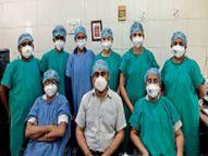 संकट के दौर में भी लगातार डायलिसिस कर लोगों की जिंदगी बचा रहे हैं डॉक्टर|भिलाई,Bhilai - Dainik Bhaskar