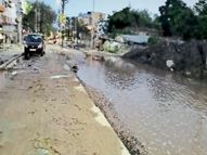 जगदीशपुरी लेन और चर्च रोड में पैदल चलना भी है मुश्किल|मुजफ्फरपुर,Muzaffarpur - Dainik Bhaskar