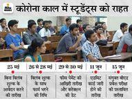 अब 30 मई तक जमा करा सकेंगे फॉर्म, 15 जून को होगा एंट्रेंस टेस्ट; LNMU ने जारी की नई डेटशीट|करिअर,Career - Money Bhaskar