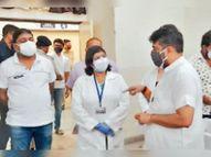 कोरोना को हराने के लिए टीकाकरण का कार्य तेजी से हो रहा : असीम|अम्बाला,Ambala - Dainik Bhaskar