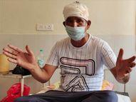 युवक को मारने की फिराक में था 5-6 का गुट, सूचना के बाद मौके पर पहुंचे ASI का सिर फोड़ा; 4 गिरफ्तार|बठिंडा,Bathinda - Dainik Bhaskar