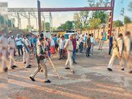 रास्ते के विवाद में मेकाॅन काॅलाेनी गेट के पास अंधाधुंध फायरिंग, चार लाेग घायल|रांची,Ranchi - Dainik Bhaskar