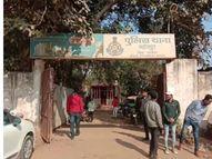 गर्लफ्रेंड गुस्सा हुई तो गले में डाल लिया फंदा, पुलिस ने बचाने पहुंची तो छत पर चढ़ गया, मुश्किल से उतारा|ग्वालियर,Gwalior - Dainik Bhaskar