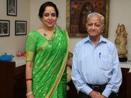 एक्ट्रेस ने याद करते हुए इमोशनल पोस्ट में लिखा- वे जो खालीपन छोड़ गए, उसे कोई नहीं भर सकता बॉलीवुड,Bollywood - Dainik Bhaskar