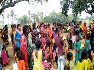 पटना के परसा बाजार में बगीचा की रखवाली कर रहे थे, अपराधियों ने की निर्मम हत्या; विरोध में हंगामा पटना,Patna - Dainik Bhaskar