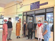 सिविल-स्मीमेर में दो माह में 60 कोरोना पॉजिटिव गर्भवतियों ने स्वस्थ बच्चों को जन्म दिया|देश,National - Dainik Bhaskar