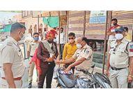 पुलिस ने दूल्हे से कहा- जिंदगी रही तो अगले साल ले जाना दुल्हन|खंडवा,Khandwa - Dainik Bhaskar