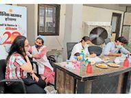 सेक्टर-18 के राधा स्वामी सत्संग सेंटर पर मेगा वैक्सीनेशन आज, बिना रजिस्ट्रेशन-अपाॅइंटमेंट न पहुंचें|पानीपत,Panipat - Dainik Bhaskar