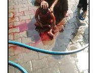 15 साल का लड़का चला रहा था ई-रिक्शा, बच्चे पर पलटा, माैत,अशाेक विहार काॅलाेनी का मामला|पानीपत,Panipat - Dainik Bhaskar