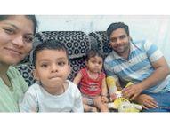 ड्यूटी के दाैरान ही डिलीवरी हुई, 6 माह बाद लाैटीं ताे काेराेना मरीजाें की देखभाल भी की|पानीपत,Panipat - Dainik Bhaskar