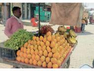 मार्केट कमेटी के तय रेटाें से 10 से 20 रुपए प्रति किलाे ज्यादा महंगे बिक रहे फल और सब्जियां|पानीपत,Panipat - Dainik Bhaskar