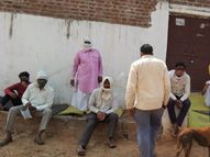 सरकारी आंकड़ों में संक्रमण दर 9.2 का दावा , हकीकत: न जांच, न इलाज|ग्वालियर,Gwalior - Dainik Bhaskar