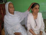 52 साल की दिव्यांग बेटी के लिए 94 की उम्र में मां ने शुरू किया नया काम, ताकि किसी के आगे हाथ न फैलाना पड़े|भोपाल,Bhopal - Dainik Bhaskar