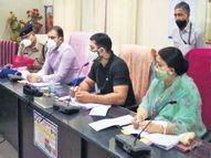 अशोक चांदना को छोड़ अपने जिलों में नहीं गए 18 प्रभारी मंत्री; कलेक्टर से फोन पर पूछ रहे बीमार जिलों का हाल|जयपुर,Jaipur - Dainik Bhaskar